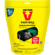 Victor® Fast-Kill Refillable Bait Station with 20 Bait Refills - M920