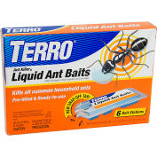 TERRO® Prefilled Liquid Ant Killer II Baits, 6 Pack - T300