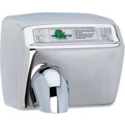 World Dryer Automatic Hand Dryer - 208/230V, Bright SS - DXA54-972