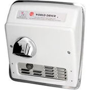 World Dryer Auto Recessed Hand Dryer-  115V -  Brushed SS - DXRA5-Q973AK