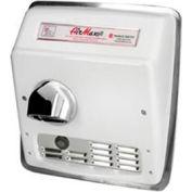 World Dryer Airmax High Speed Recessed Auto 115V -  Brushed SS - DXRM54-Q973AK
