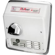 World Dryer Airmax High Speed Recessed Auto 280V -  Brushed SS - DXRM54-Q973A