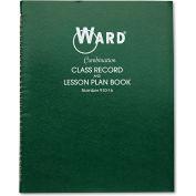 "Ward® Combination Record & Plan Book 91016, 11"" x 8-1/2"", White, 6 Classes/Day"