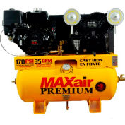 MaxAir Gasoline Truck Mount Compressor 11HP, 30 Gal, 35 CFM @ 100 PSI