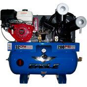 Eagle Gasoline Truck Mount Compressor 13G30TRKE, 13HP, 30 Gal, 32 CFM @ 100 PSI