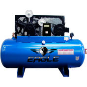 Eagle Electric Stationary Compressor 153120H2-MS230, 15HP, 120 Gal, 3 Phase