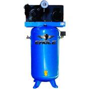 Eagle Electric Stationary Compressor 5180V2-CS, 5HP, 80 Gal, 18 CFM @ 100 PSI, 1 Phase