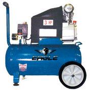 Eagle Electric Portable Compressor 653036L, 3HP, 6.5 Gal 6.7 CFM @ 90 PSI