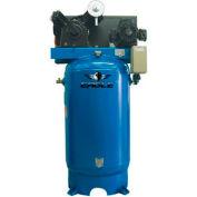 Eagle Electric Stationary Compressor 7180V2-MS, 7.5HP, 80 Gal, 24.6 CFM @ 100 PSI, 1 Phase