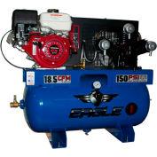 Eagle Gasoline Truck Mount Compressor 9G30TRKE-H, 9HP, 30 Gal, 18.5 CFM @ 100 PSI