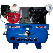 Eagle Gasoline Truck Mount Compressor 9G30TRKE, 9HP, 30 Gal, 18 CFM @ 100 PSI