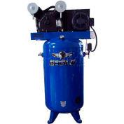Eagle Electric Stationary Compressor C7380V1-CS2, 208/230V, 80 Gal, 3 Phase