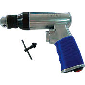 "Eagle EGA-600, 1/4"" Pistol Air Drill, 0.7 HP, 2200 RPM, 4 CFM, Reversible, 90 PSI"