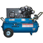 Eagle P5125H1, Portable Electric Air Compressor, 5 HP, 25 Gallon, Horizontal, 18.5 CFM