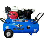 Eagle Gasoline Portable Compressor 5.5HP, 25 Gal, 12.5 CFM @ 100 PSI