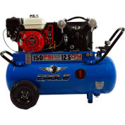 Eagle Gasoline Portable Compressor P55GE25H1, 25 Gal