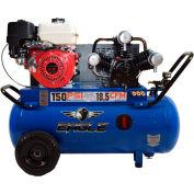 Eagle Gasoline Portable Compressor P90G25H1, 9HP, 25 Gal, 18.5 CFM @ 90 PSI