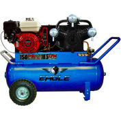 Eagle Gasoline Portable Compressor P90GE25H1, 25 Gal