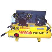 MaxAir Electric Portable Compressor TT318E-DV-MAP, 3.5HP, 115/230V, 8 Gal, 6 CFM @ 100 PSI