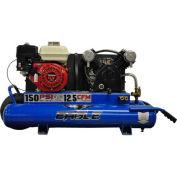 MaxAir Gasoline Portable Compressor TT55G, 5.5HP, 10 Gal, 12.5 CFM @ 10 PSI