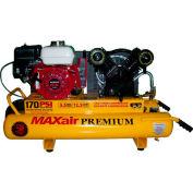 MaxAir Gasoline Portable Compressor TT55GE-MAP, 5.5HP, 10 Gal