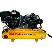 Eagle Gasoline Portable Compressor TT90GE-MAP, 9HP, 10 Gal, 18.5 CFM @ 100 PSI