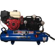 Eagle Gasoline Portable Compressor TT90GE, 9HP, 10 Gal, 18.5 CFM @ 100 PSI