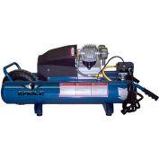 Eagle Electric Portable Compressor TTDD318E, 3HP, 8 Gal, 6 CFM @ 100 PSI