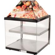 """Wisco Industries®2 Shelf Pizza Display Warmer, 680-1, 18"""" W x 24""""H x 18""""D"""