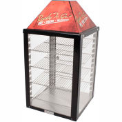 "Wisco Industries®Display Warmer - 4 Shelf, Adjustable Thermostat, 18""W x 34""H x 18""D"