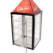 """Wisco Industries®Display Warmer - 4 Shelf, Adjustable Thermostat, 2 Door, 18""""W x 34""""H x 18""""D"""