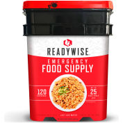 Wise Company 01-120 Entree Only Grab and Go Kit, 120 Servings