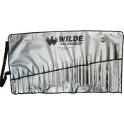 WILDE® 20 Piece Punch & Chisel Set, K20.NP/VR, Natural Finish