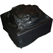 "Fire Sense Outdoor Square Fire Pit Vinyl Cover 02056, 10 Gauge, 38"" L  x  38"" W  x  28"" H"