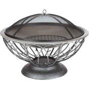 "Fire Sense 30"" Round Urn Fire Pit 02119 Stainless Steel"