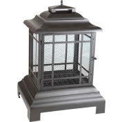 Fire Sense Rectangle Pagoda Patio Fireplace 02679 Black