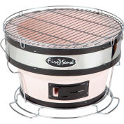 Fire Sense HotSpot Round Yakatori Charcoal BBQ Grill 60449