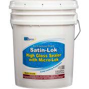 Satin-Lok High Gloss Acrylic Surface Sealer, 5 Gallon Pail 1/Case - CR-1405