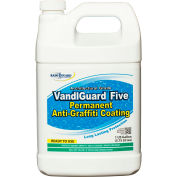 VandlGuard Five RTU Anti-Graffiti Non-Sacrificial Coating, Gallon Bottle 4/Case - VG-7005CS