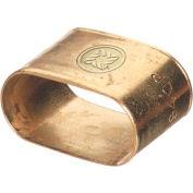 Oval Brass Dual Hose Braces, WESTERN ENTERPRISES 453-A