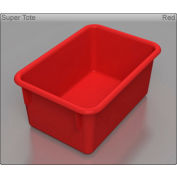 "Tote Tray - 5""W x 11-1/4""D x 7-3/4""H - Red"