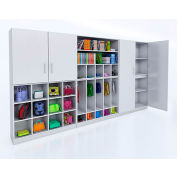 Whitney Brothers Complete Wall Storage System - White
