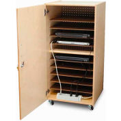 Whitney Brothers Laptop Security Cabinet - Single