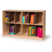 Whitney Brothers 12 Cubby Big Backpack Storage