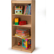 """Whitney Brothers Tall 54""""H Storage with Adjustable Shelves"""