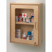 Whitney Brothers Lockable Medicine/First Aid Wall Cabinet
