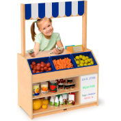 Whitney Brothers Preschool Pretend Play Market Stand