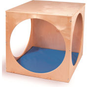 Whitney Brothers Play House Cube With Blue Floor Mat