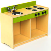 Whitney Brothers Let's Play Toddler Pretend Sink and Stove - Natural
