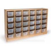 Whitney Brothers 30 Tray Storage Cabinet